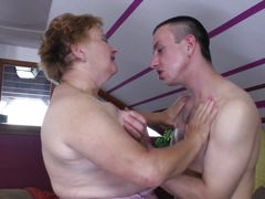 young male fucking a mature cunt