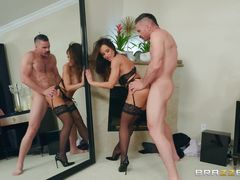 slutty wife doesn't mind cheating on her husband